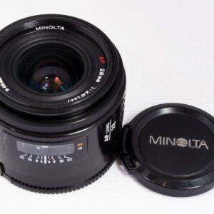 Minolta 28mm f2.8 MAF