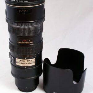 Nikon 70-200mm f2.8G ED VR