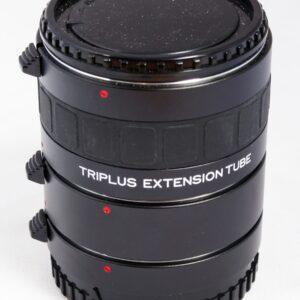 Triplus Set of 3 extension tubes MAF