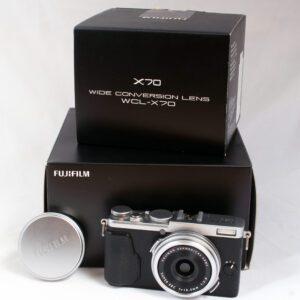 Fuji X70 + WC-X70 Wide Conversion
