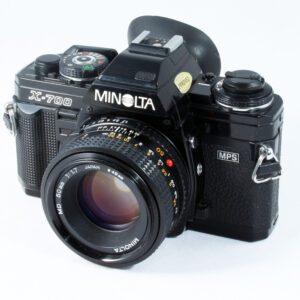 Minolta X-700 + 50mm f1.7