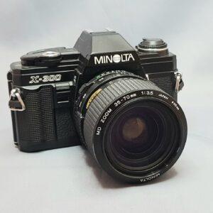 Minolta X-300 + 35-70mm