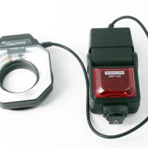 Marumi DRF14 macro flash unit