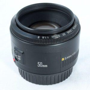 Canon EF 50mm f1.8 Mk II