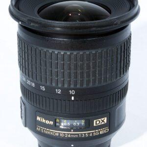 Nikon AF-S 10-24mm f3.5-4.5G ED DX