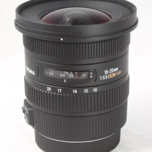 Sigma 10-20mm f3.5 EOS