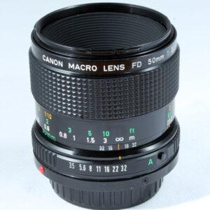 Canon 50mm f3.5 Macro FD