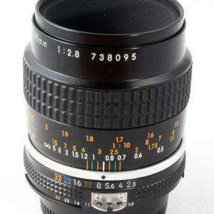 Nikon Micro-Nikkor 55mm f2.8  MF